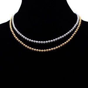 Michael Kors Beaded Necklace